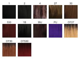 Freetress Color Chart Braiding Hair Color Chart Sbiroregon Org