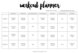 workout template excel 9 excel workout templates excel templates