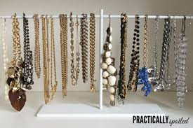 Instant Ikea Hack: $2.99 DIY Jewelry Stand - practicallyspoiled.com