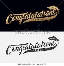 congratulations to graduate congratulations graduate calligraphy lettering handwritten phrase