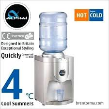 tabletop bottled water dispenser alpha 1 stylish tabletop cooler hot and cold bottled water dispenser primo