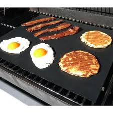 BBQ GRILL MAT – As Seen TV 100% non stick Make Grilling Easy