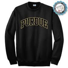 purdue twill arch crewneck sweatshirt