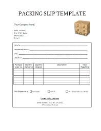Professional Packing Slip Template For Word Or Pdf Formats : Vlashed