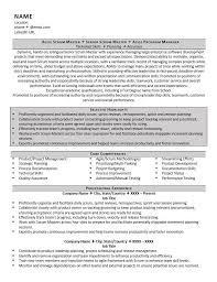 project scheduler resumes scrum master resume example examples of resumes