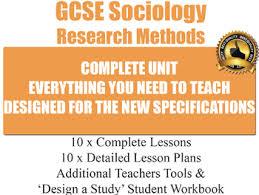 Sociological Research Sociological Research Methods 10 Lesson Unit Sociology