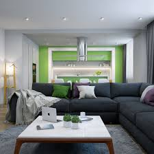 Lime Green Living Room 25 Modern Living Rooms With Cool Clean Lines