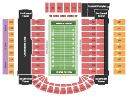 Illinois Seating Chart Football Memorial Stadium Champaign Seating Chart Champaign