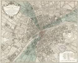 giant historic paris map 1740 old map of paris antique inside map of paris wall art