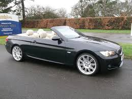 black bmw convertible. used bmw 3 series 2009 black convertible petrol automatic for sale