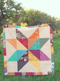 Lone Star Baby Quilt Tutorial part 2 | Quilt Design | Pinterest ... & Easy DIY Star baby quilt tutorials - two versions of a simple design to  make a Adamdwight.com