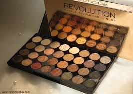 makeup revolution flawless ultra 32 eyeshadow palette review copy