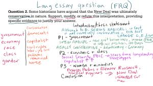 frq essay writing an ap human geography frq or response question  ap us history long essay example video khan academy