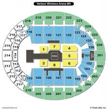 Lakeview Amphitheater Seating Chart Interactive Snhu Arena Seating Chart Seating Chart
