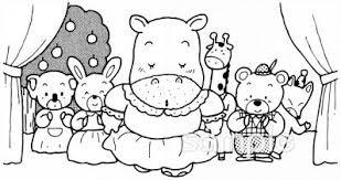 演劇会イラストなら小学校幼稚園向け保育園向けのかわいい無料