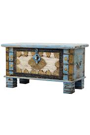 Orientalische Truhe Kiste Aus Holz Ezgi 80cm Groß In Antik Vintage