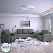 sofa set for sale near me. Perfect Sofa Flipkart Perfect Homes Canterbury Fabric 3  2 1 Grey Sofa Set On For Sale Near Me L