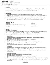 Resume It Professional Susanireland Resume For A Distribution Warehouse Worker Susan Ireland
