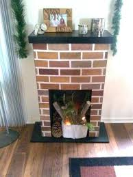 fake fireplace for how