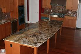 Kitchen Granite Counter Top Wood Granite Countertops