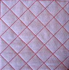 Tuesday Tutor - how to layer your quilt ready for quilting » Arbee ... & Cross-Hatch quilting Adamdwight.com