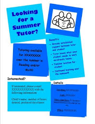 Tutoring Flyer By Amanda Ferazzoli | Teachers Pay Teachers