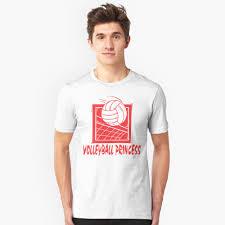 Sand Volleyball T Shirt Designs Volleyball Princess Womens Slim Fit T Shirt