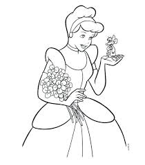Cinderella Coloring Pages Awesome Princess Cinderella And Many
