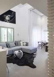 Schlafzimmer Mit Bad Hinter Glaswand Loft Wohnung In Tel Aviv