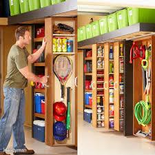 space saving sliding garage storage shelves