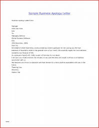 Customer Apology Letter Examples Business Letter Inspirational Sample Business Apology Letter to 42