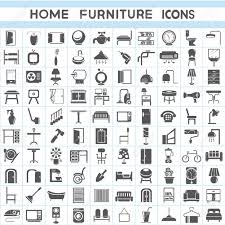 isometric office furniture vector collection. furniture icons set interior design collections stock vector 23354009 isometric office collection f