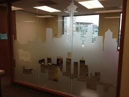 office glass frosting. customwindowfilm office glass frosting