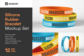 Whether you're a global ad agency or a freelance graphic designer, we have the vector graphics to. Silicone Rubber Bracelet Mockup In Product Mockups On Yellow Images Creative Store