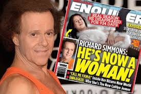 richard simmons transformation. richard simmons secret sex change transformation o