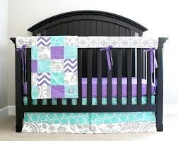 purple and teal crib bedding custom crib bedding purple teal and grey baby bedding by on purple and teal crib bedding