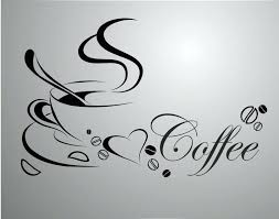 coffee cup wall decor coffee cup with love heart vinyl e removable wall sticker home decor coffee cup wall decor