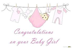 Congrats Baby Born Wishes For New Baby Girl Quotes