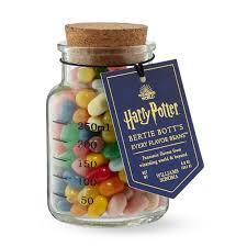 Harry Potter Jelly Bean Flavors Chart Harry Potter Bertie Bott Beans