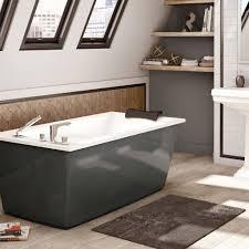 beautiful maax optik f 6032 thunder gray freestanding bathtub of beautiful maax optik f 6032 thunder