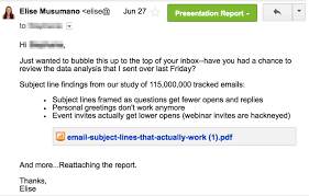 12 Examples Of A Follow Up Email Template To Steal Right Now Awesome