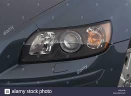 Volvo S40 Lights 2007 Volvo S40 T5 In Blue Headlight Stock Photo 16024380