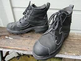 John Fluevog Size Chart John Fluevog Bleeker Black Leather 6 Eye Lace Up Boot Mens