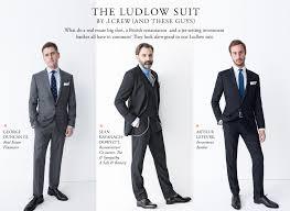 J Crew Men S Shirt Size Chart The Ludlow Suit