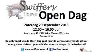 Amivedi Open Dag Swiffershoeve 29 September 2018