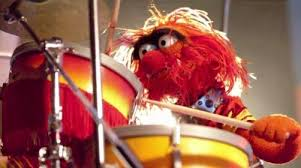 animal muppet drums. Unique Animal Animal At His Drum Set On Muppet Drums O