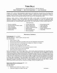 Resume Resume Format For Customer Service Manager Best Of Food