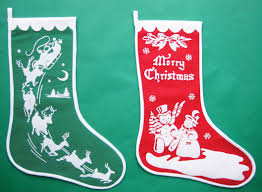 Vintage-Inspired Christmas Stockings  Finished  Q Is For Quilter inside  Vintage Christmas Stocking