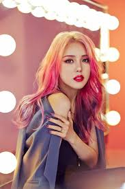 at the time she was known as park hye min and she was famous for her makeup then too