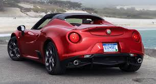alfa romeo 4c spider black.  Romeo New Alfa Romeo 4C Spider Priced From 63900 In The US 224 Pics   Carscoops With 4c Black R